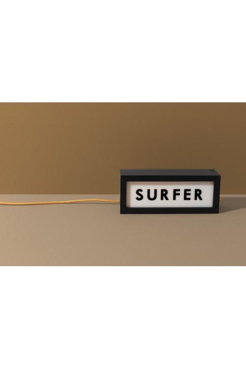 "Lampe ""SURFER"""