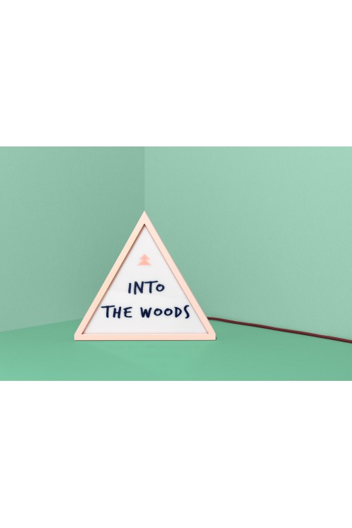 """Lampe """"Into the woods"""""""