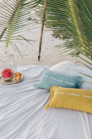 "Cushion ""Sunkissed"""