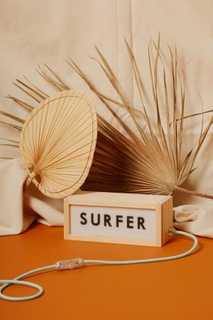 """Lightbox """"SURFER"""""""