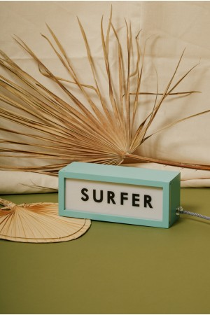 "Lightbox ""SURFER"""