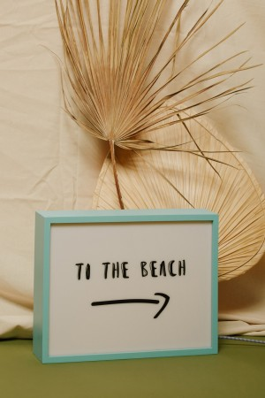 """Lampe """"TO THE BEACH"""""""
