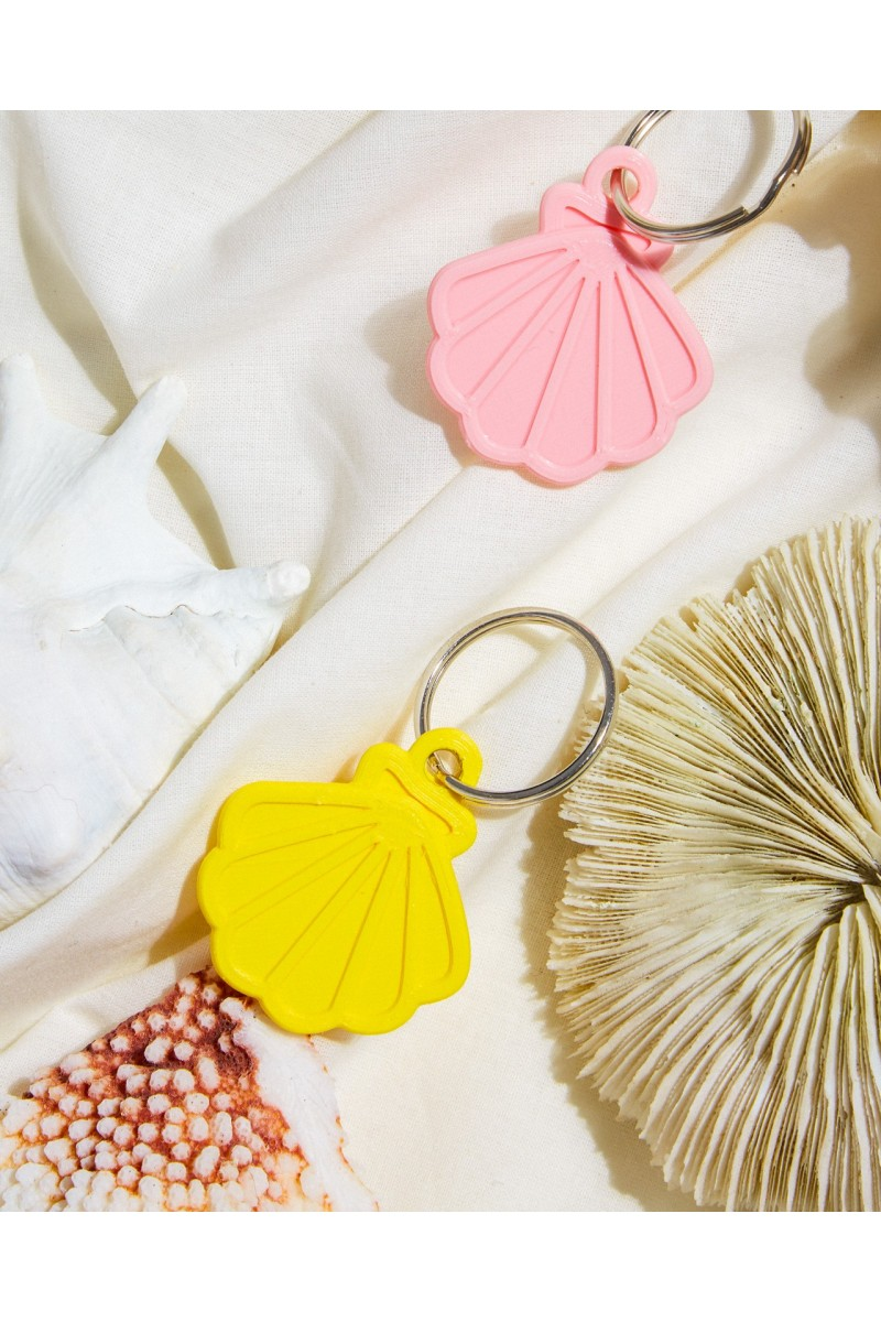 """seashell"" Key chain"