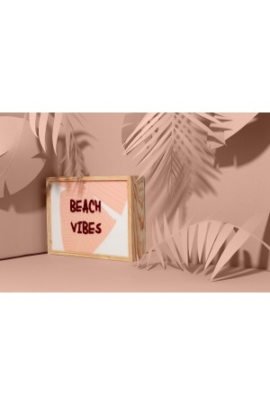 "Lightbox ""BEACH VIBES"""