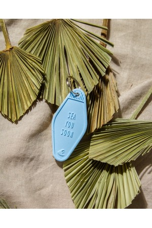 "Porte clef ""sea you soon"""