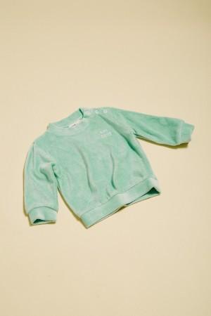 sweat vert menthe